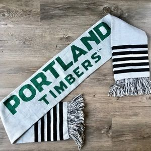 Portland Timbers Soccer Fringed Winter Scarf